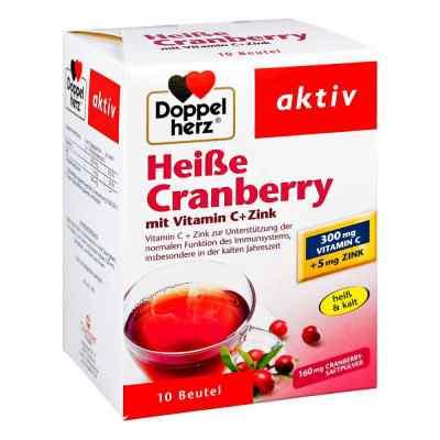 Doppelherz Heisse Cranberry mit Vitamin C +Zink Granulat  bei apotheke-online.de bestellen