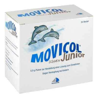 Movicol Junior Schoko Pulver zur, zum Herst.e.Lsg.z.Ein.  bei vitaapotheke.eu bestellen