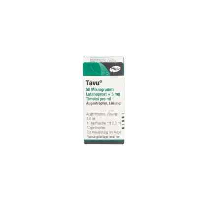 Tavu 50 [my]g Latanoprost+5 mg Timolol pro ml  bei apo.com bestellen