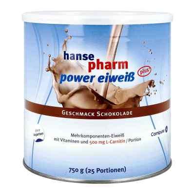 Hansepharm Power Eiweiss plus Schoko Pulver  bei vitaapotheke.eu bestellen