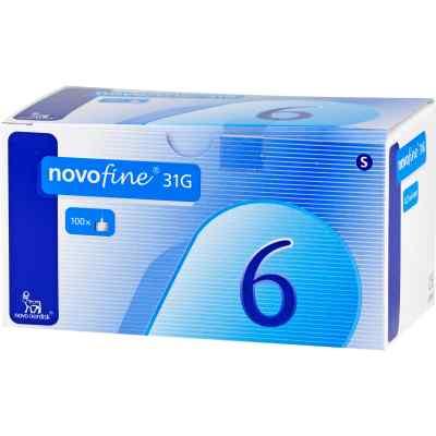 Novofine 6 Kanülen 0,25x6 mm  bei apo.com bestellen