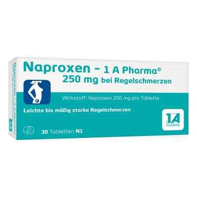 Naproxen-1A Pharma 250mg bei Regelschmerzen  bei apo.com bestellen