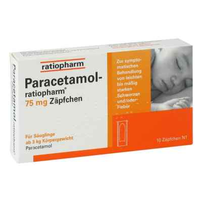 Paracetamol-ratiopharm 75mg  bei apo.com bestellen