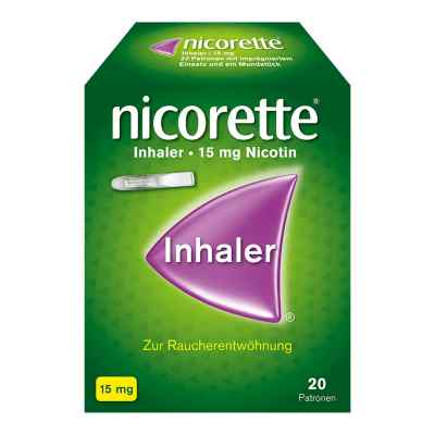 Nicorette Inhaler 15mg  bei apotheke-online.de bestellen