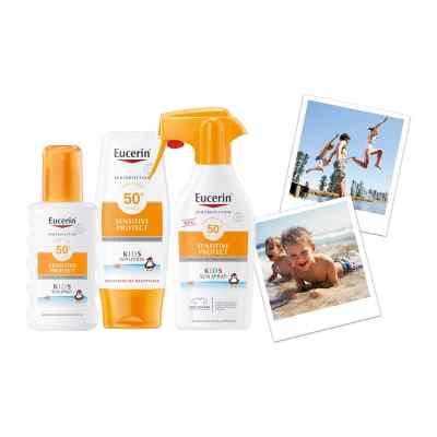 Eucerin Sun Sensitive Protect Kids Sun Spray LSF 50+  bei apo.com bestellen