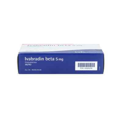 Ivabradin beta 5 mg Filmtabletten  bei apo.com bestellen