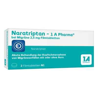 Naratriptan-1A Pharma bei Migräne 2,5mg  bei apo.com bestellen