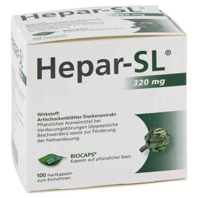 Hepar Sl 320 mg Hartkapseln  bei apotheke-online.de bestellen