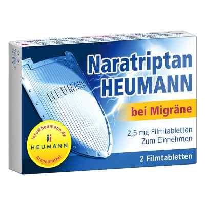 Naratriptan Heumann bei Migräne 2,5mg  bei vitaapotheke.eu bestellen