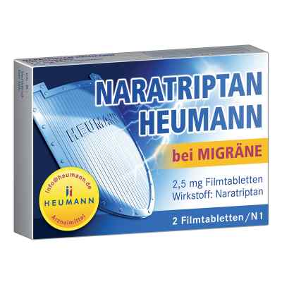 Naratriptan Heumann bei Migräne 2,5mg  bei apotheke-online.de bestellen
