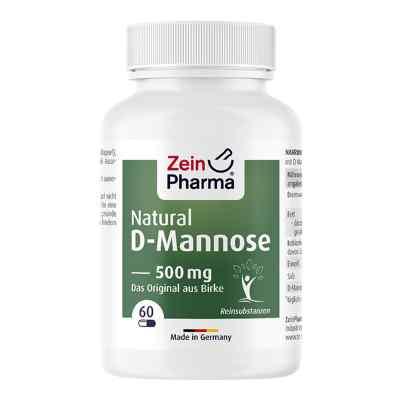 Natural D-mannose 500 mg Kapseln  bei apo.com bestellen