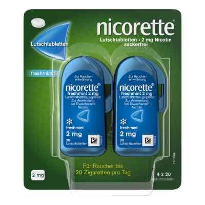 Nicorette freshmint 2 mg Lutschtabletten gepresst  bei apotheke-online.de bestellen