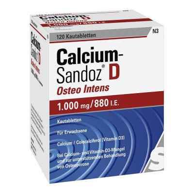 Calcium-Sandoz D Osteo intens 1000mg/880 internationale Einheite  bei apo.com bestellen