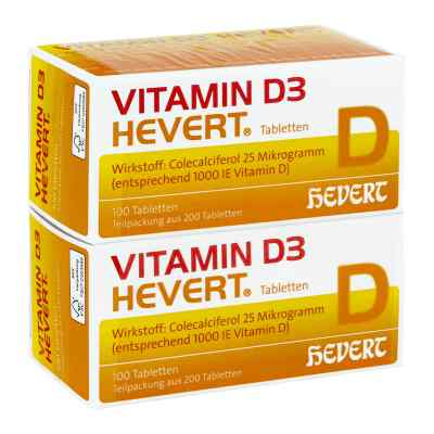 Vitamin D3 Hevert Tabletten  bei vitaapotheke.eu bestellen
