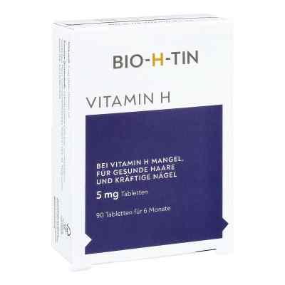 Bio-h-tin Vitamin H 5 mg für 6 Monate Tabletten  bei apotheke-online.de bestellen