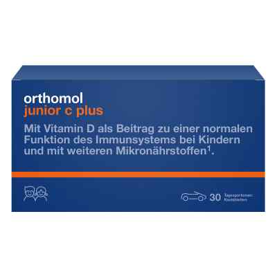 Orthomol Junior C plus Kautablette (n) mandarine/orange  bei vitaapotheke.eu bestellen