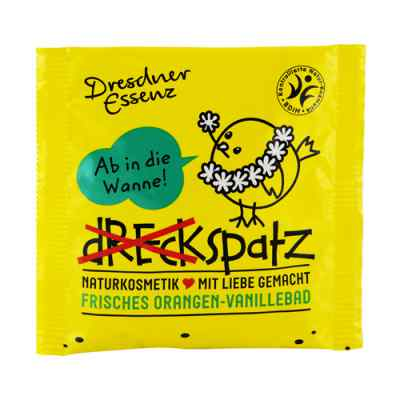 Dresdner Essenz Dreckspatz fr.Orang./Van.-Bad gelb  bei apotheke-online.de bestellen
