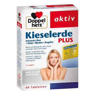 Doppelherz Kieselerde Plus Int.kur+zi.+bio.+cal.t.  bei apotheke-online.de bestellen