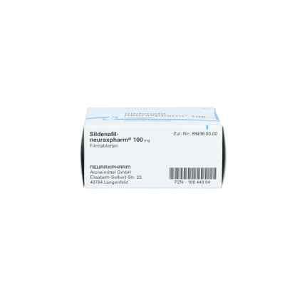 Sildenafil-neuraxpharm 100 mg Filmtabletten  bei apo.com bestellen