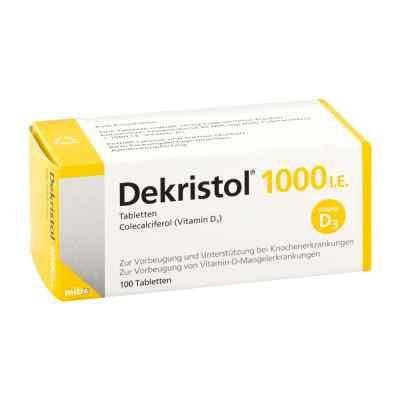 Dekristol 1.000 I.e. Tabletten  bei apotheke-online.de bestellen