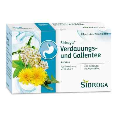 Sidroga Verdauungs- und Gallentee Filterbeutel  bei vitaapotheke.eu bestellen