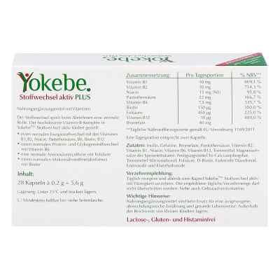 Yokebe Plus Stoffwechsel aktiv Kapseln  bei apo.com bestellen