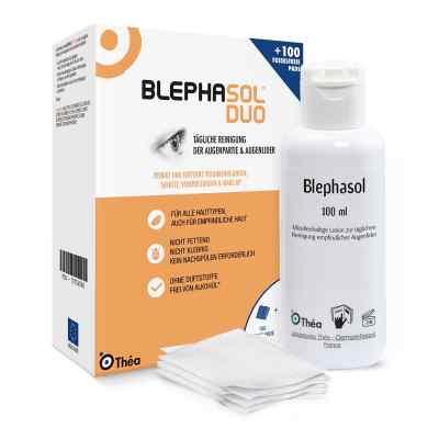 Blephasol Duo 100 ml Lotion+100 Reinigungspads  bei apotheke-online.de bestellen