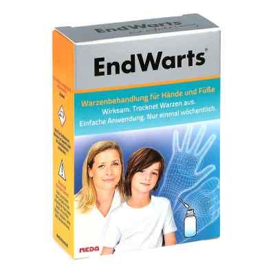 Endwarts Lösung inkl.Wattestäbchen  bei apo.com bestellen