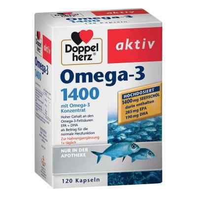 Doppelherz Omega-3 1.400 Kapseln  bei apotheke-online.de bestellen