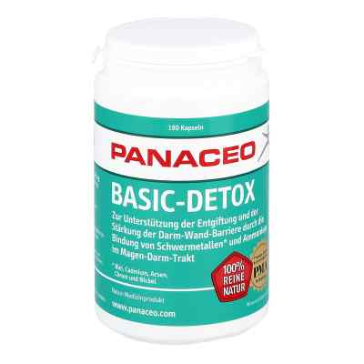 Panaceo Basic-detox Kapseln  bei vitaapotheke.eu bestellen