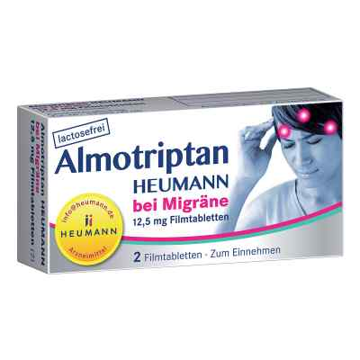 Almotriptan Heumann bei Migräne 12,5mg  bei vitaapotheke.eu bestellen