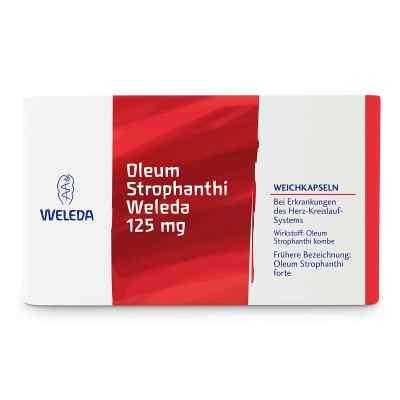 Oleum Strophanthi Weleda 125 mg Weichkapseln  bei apo.com bestellen