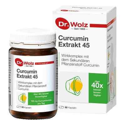 Curcumin Extrakt 45 Doktor wolz Kapseln  bei vitaapotheke.eu bestellen