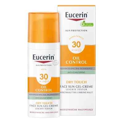 Eucerin Sun Gel-creme Oil Contr.anti-gl.eff.lsf 30  bei apo.com bestellen