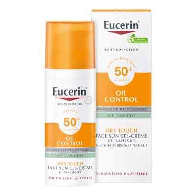 Eucerin Sun Gel-creme Oil Contr.anti-gl.eff.lsf50+  bei apo.com bestellen