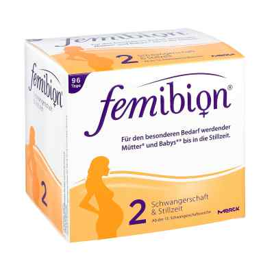 Femibion Schwangerschaft 2 D3+dha+400 [my]g Folat  bei apotheke-online.de bestellen
