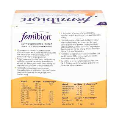 Femibion Schwangerschaft 2 D3+dha+400 [my]g Folat  bei vitaapotheke.eu bestellen