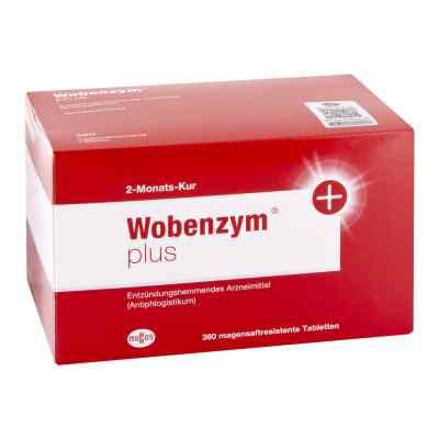 Wobenzym plus magensaftresistente Tabletten  bei apo.com bestellen