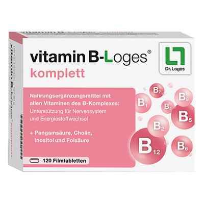 Vitamin B-loges komplett Filmtabletten  bei vitaapotheke.eu bestellen