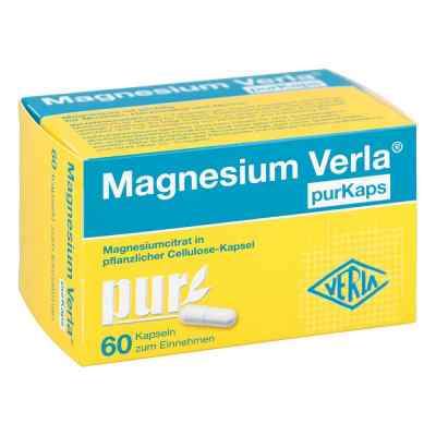 Magnesium Verla purKaps vegane Kapseln zum Einnehmen   bei vitaapotheke.eu bestellen