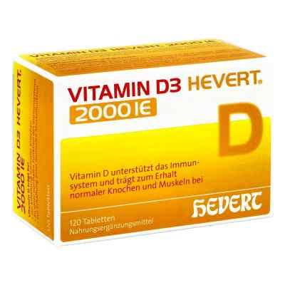 Vitamin D3 Hevert 2.000 I.e. Tabletten  bei vitaapotheke.eu bestellen