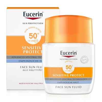 Eucerin Sun Fluid mattierend Lsf 50+  bei apo.com bestellen