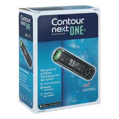 Contour Next One Blutzuckermessgerät Set mg/dl  bei apo.com bestellen