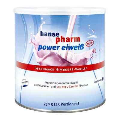 Hansepharm Power Eiweiss plus Himbeere-vanille Plv  bei vitaapotheke.eu bestellen