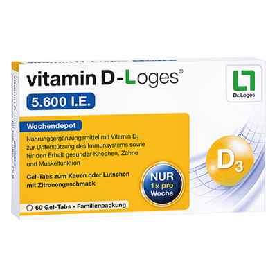 Vitamin D-loges 5.600 I.e. Kautablette (n) familienpackung  bei apo.com bestellen