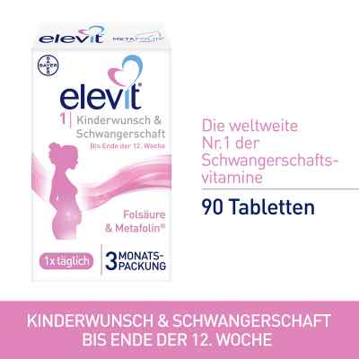 Elevit 1 Kinderwunsch & Schwangerschaft Tabletten  bei apotheke-online.de bestellen