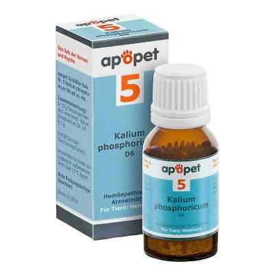 Apopet Schüssler-salz Nummer 5 Kalium phosphoricum D6 veterinär  bei apo.com bestellen