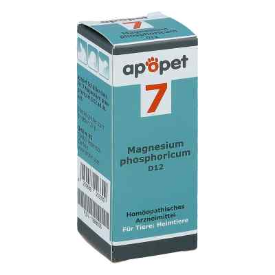 Apopet Schüssler-salz Nummer 7  Magnesium phosphoricum D  12 vet  bei vitaapotheke.eu bestellen