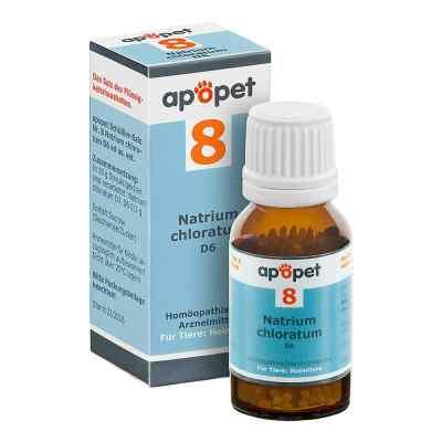 Apopet Schüssler-salz Nummer 8 Natrium chlor.D 6 veterinär  bei apo.com bestellen