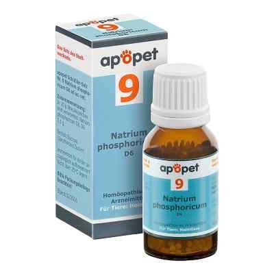 Apopet Schüssler-salz Nummer 9 Natrium phosphoricum D6 veterinär  bei apo.com bestellen
